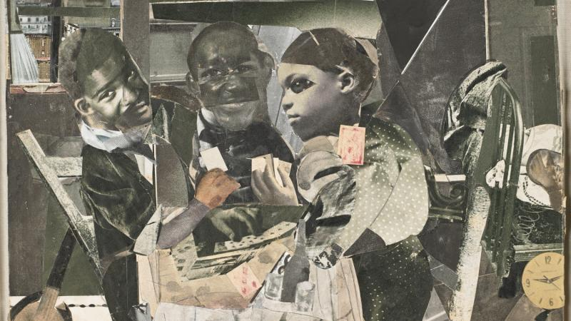 Section 8: Networks, Media & Communication - © Romare Bearden Foundation/VG Bild-Kunst, Bonn 2016. Collection of Van Every/Smith Galleries at Davidson College