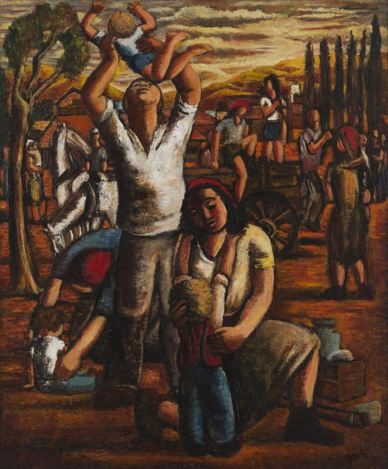 Simon Shabat On The Kibbutz Tel Aviv Museum Of Art 1500